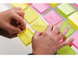 Info Notes 75x75mm brilliant groen blok a 80 vel_