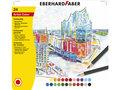 kleurpotloden-Eberhard-Faber-metaaletui-a-24-stuks