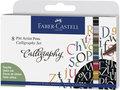 tekenstift-Faber-Castell-Pitt-Artist-Pen-kalligrafieset-8x