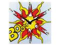 wandklok-NeXtime-43x43cm-glas-gekleurd-Boom